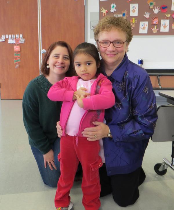 Pam, Rebecca and Camila December 11, 2013